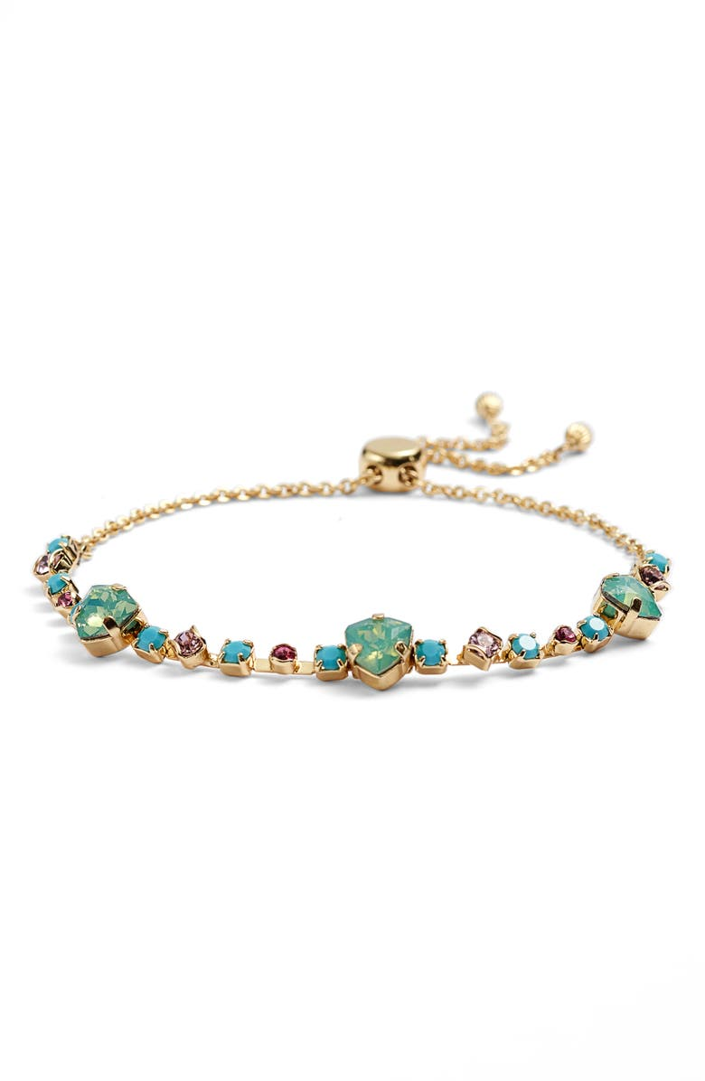SORRELLI Sedge Slider Bracelet, Main, color, BRIGHT GOLD TONE BRIGHT