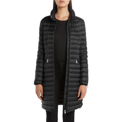 Moncler Sable Lightweight Down Quilted Puffer Coat, 0 (fits like 00-0 US) - Black