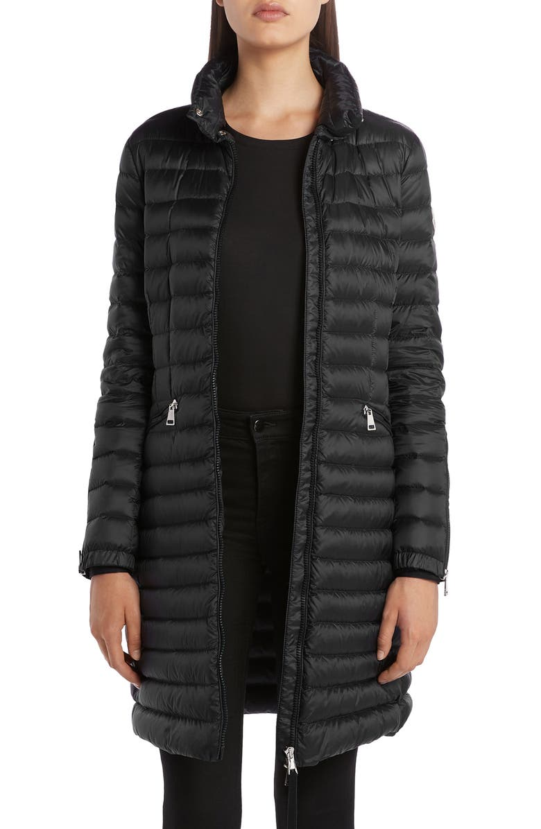 Sable Lightweight Down Quilted Puffer Coat by Moncler