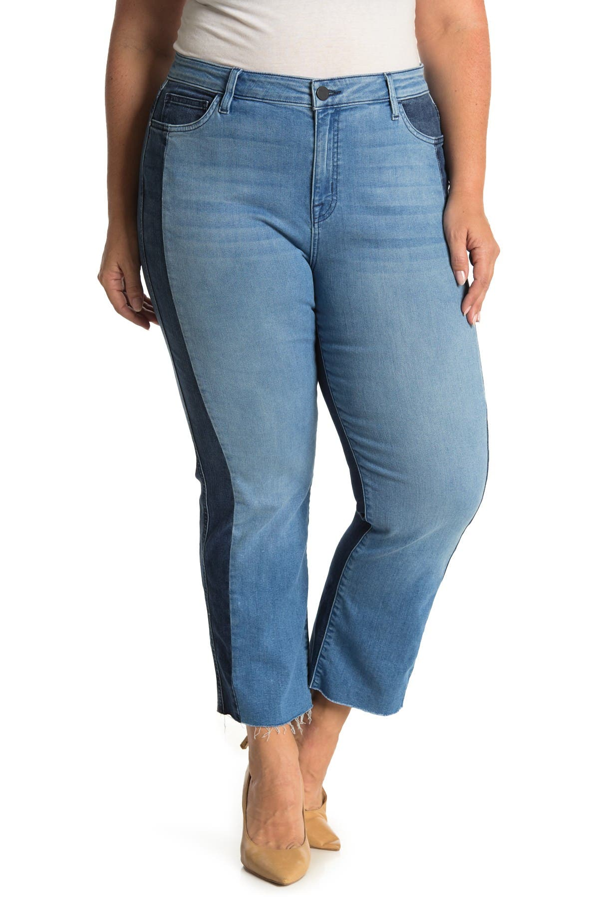 Image of Sanctuary Modern Standard Straight Crop Jeans