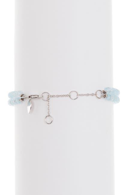 Image of Meira T 14K White Gold Blue Opal Bracelet