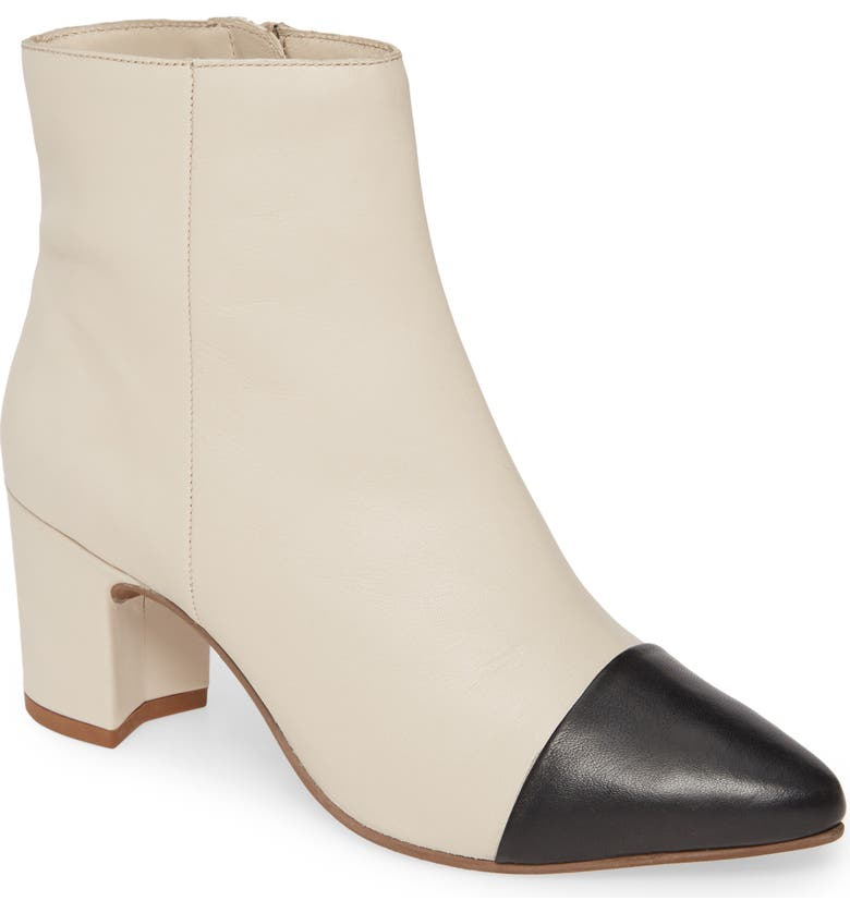 SEYCHELLES No One Like You Bootie, Main, color, WHITE LEATHER
