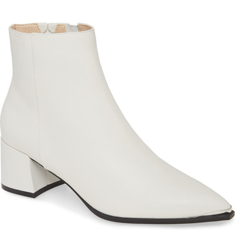 KENNETH COLE NEW YORK Roanne Bootie, Main, color, WHITE LEATHER
