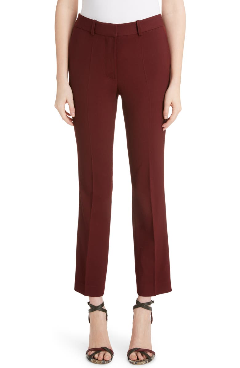 Victoria Beckham Wool Crop Trousers