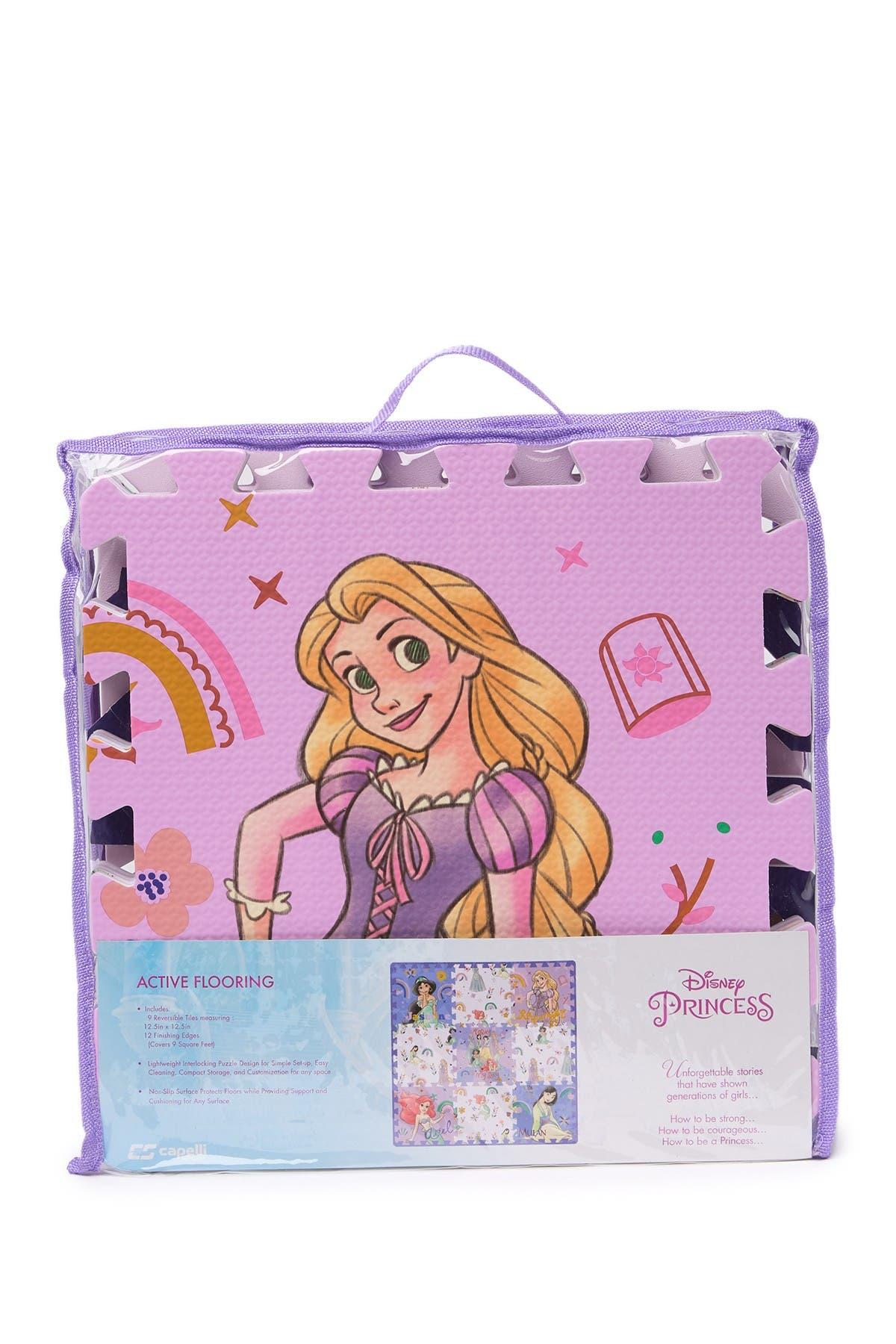 Puzzle Floor Mat Disney Princess Covers 9 Square Feet 9 Tiles