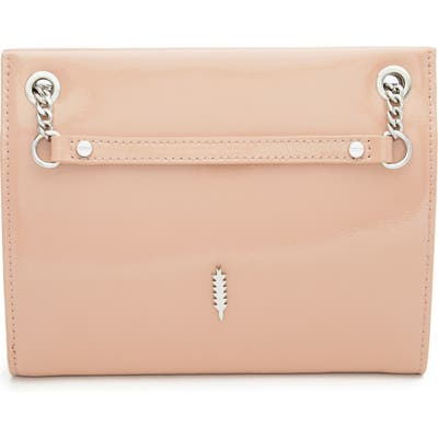 Thacker Ali Patent Leather Convertible Crossbody Bag - Pink