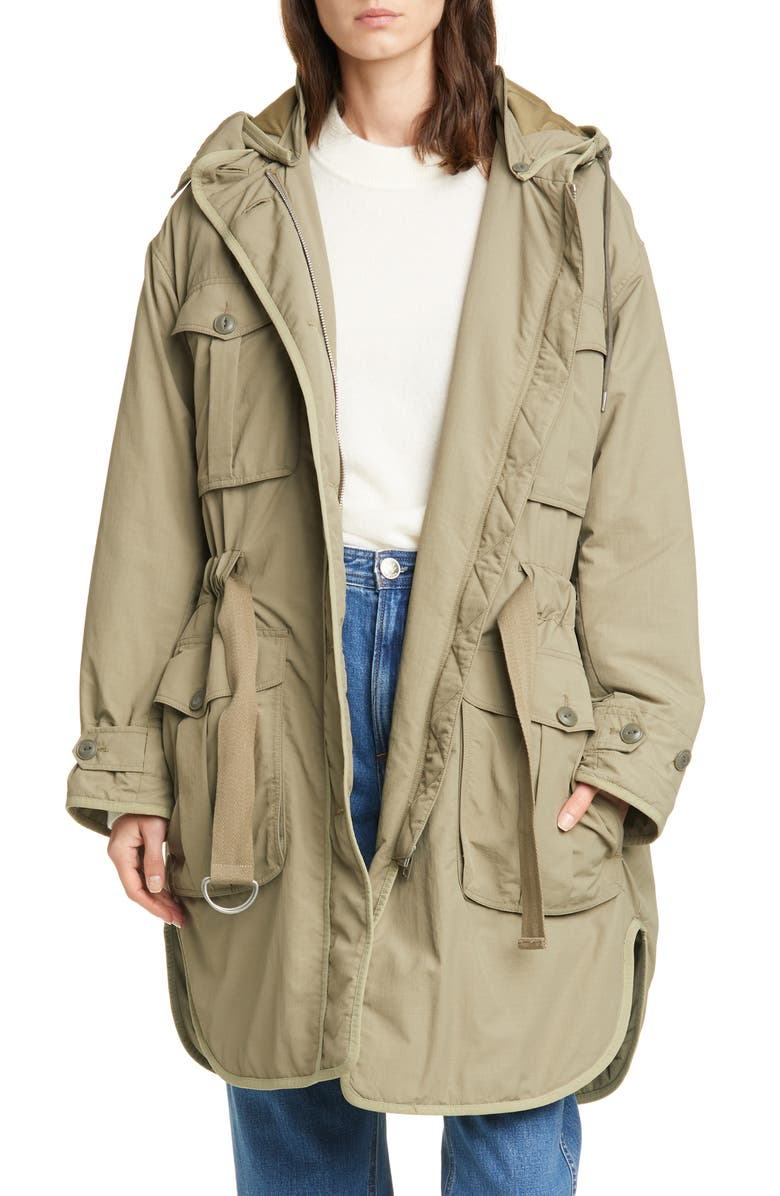 RAG & BONE Basse Belted Coat, Main, color, 300