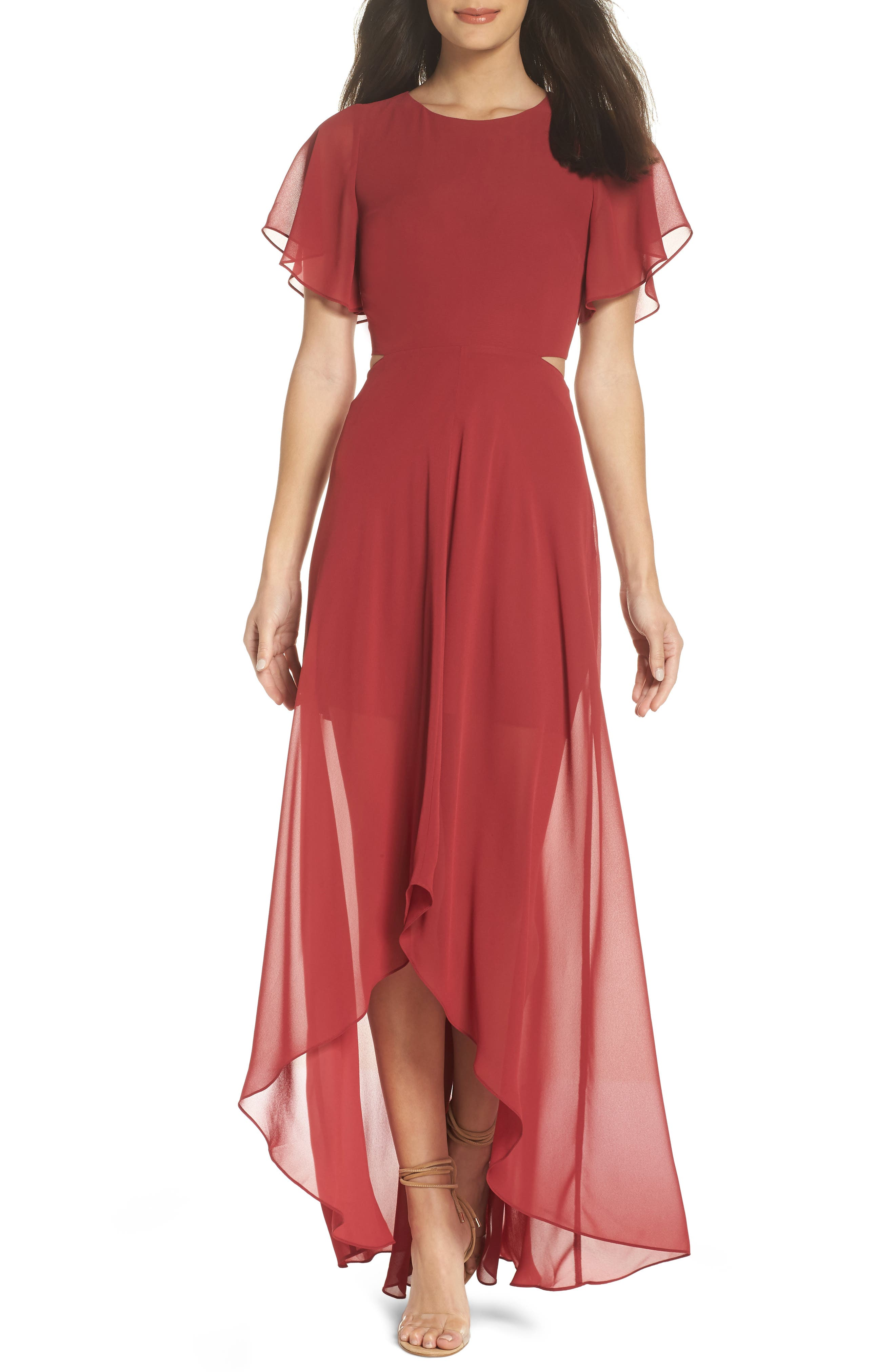 Image of Ali & Jay Cutout Maxi Dress