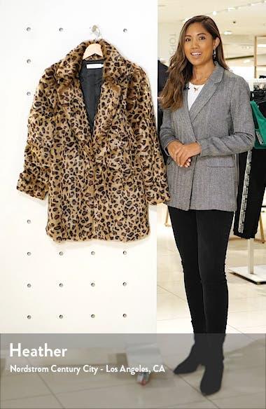 Inez Faux Fur Coat, sales video thumbnail