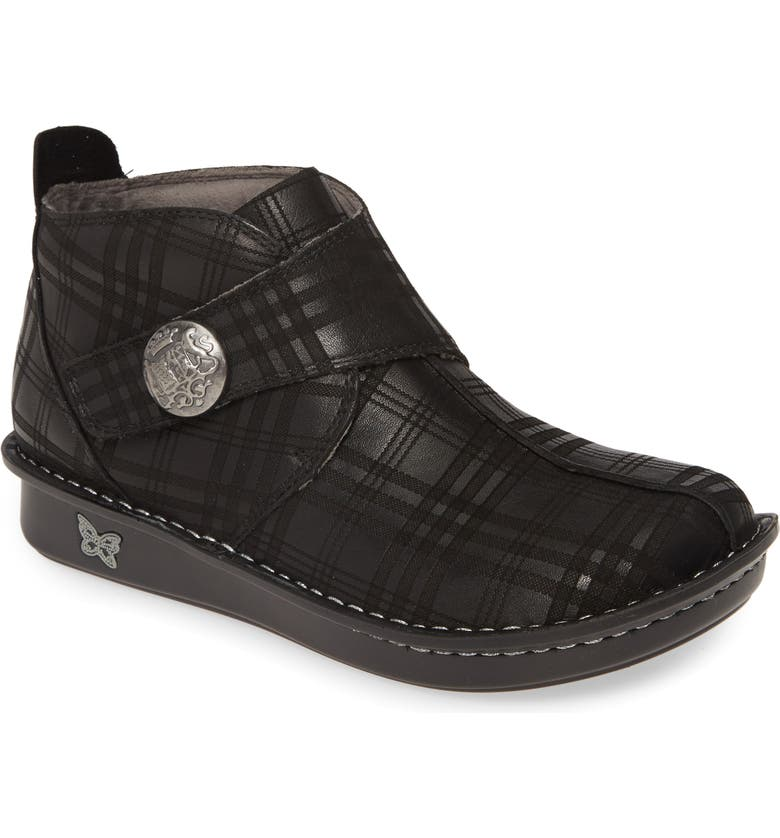 ALEGRIA 'Caiti' Boot, Main, color, PLAID TO MEET YOU LEATHER