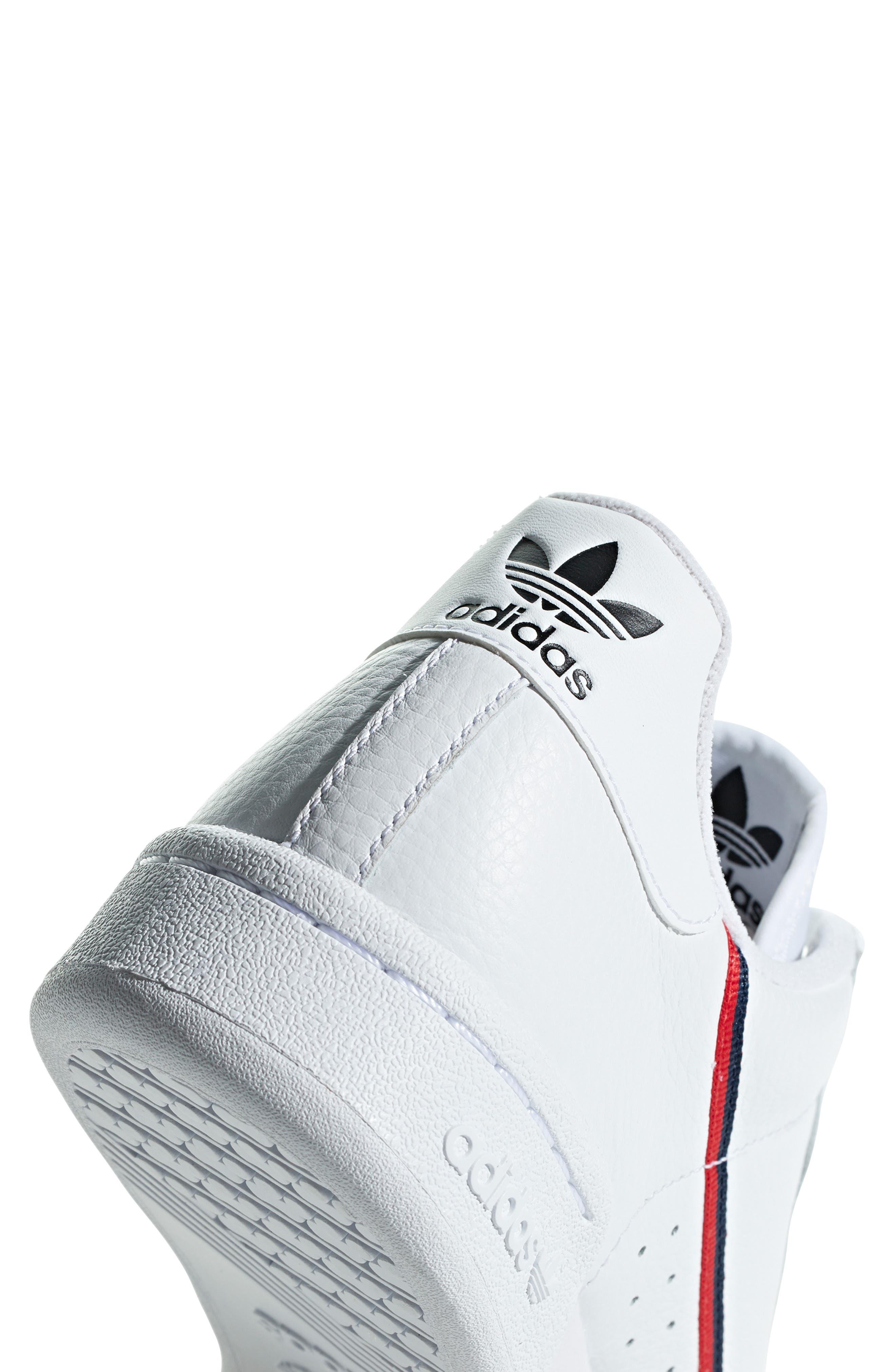 ,                             Continental 80 Sneaker,                             Alternate thumbnail 9, color,                             WHITE/ SCARLET