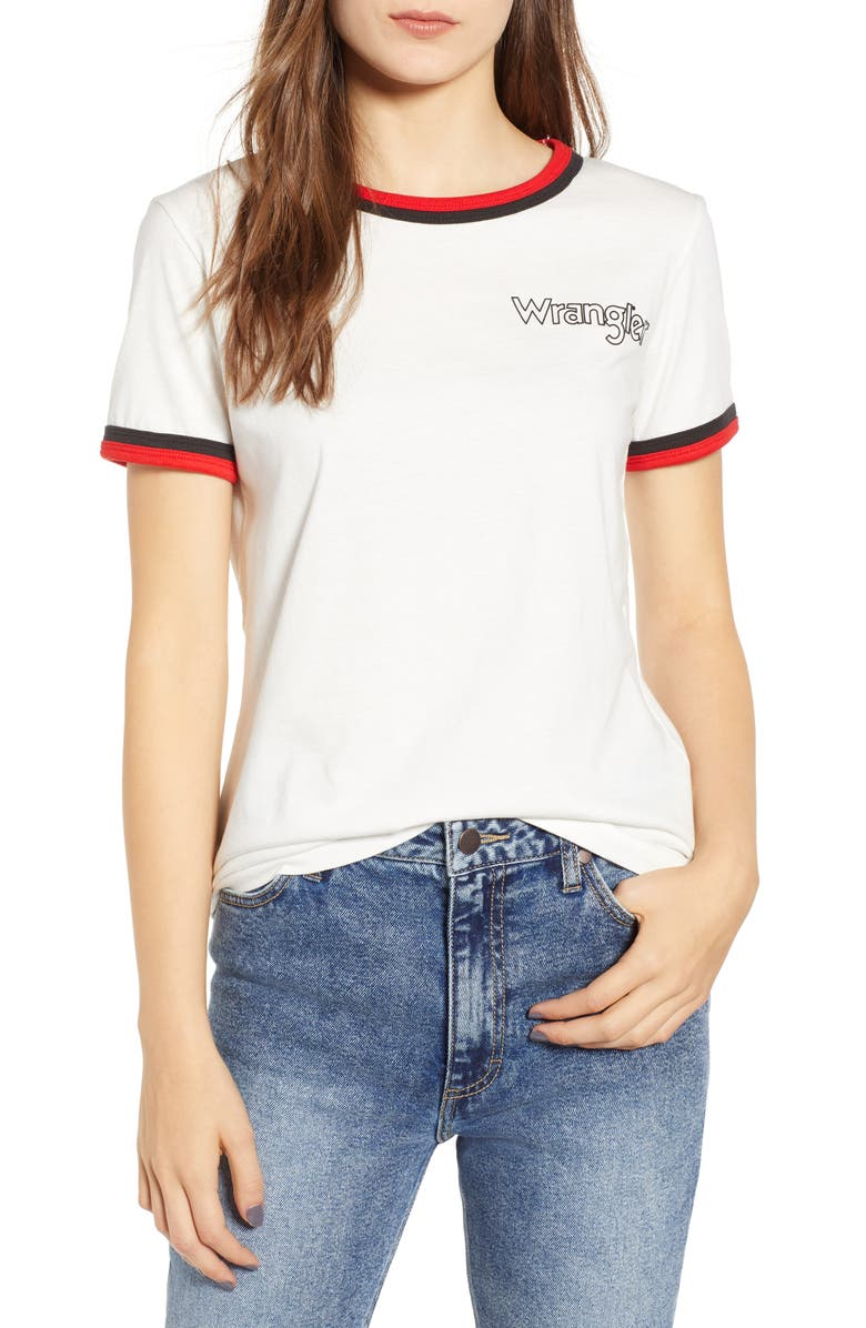WRANGLER Ringer Tee, Main, color, 900
