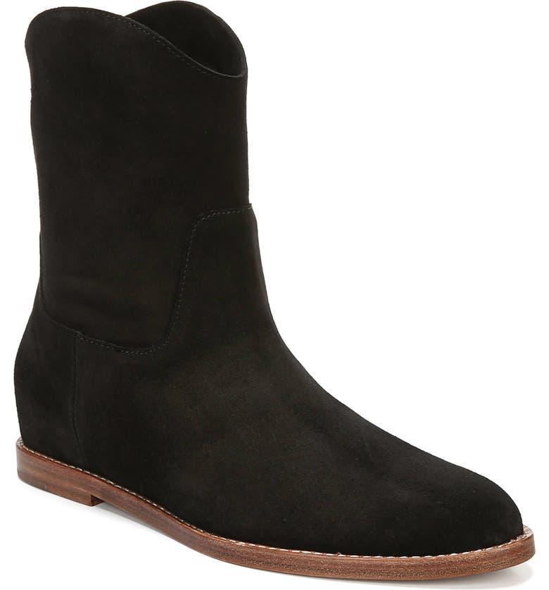 VINCE Sinclair Cowboy Boot, Main, color, BLACK
