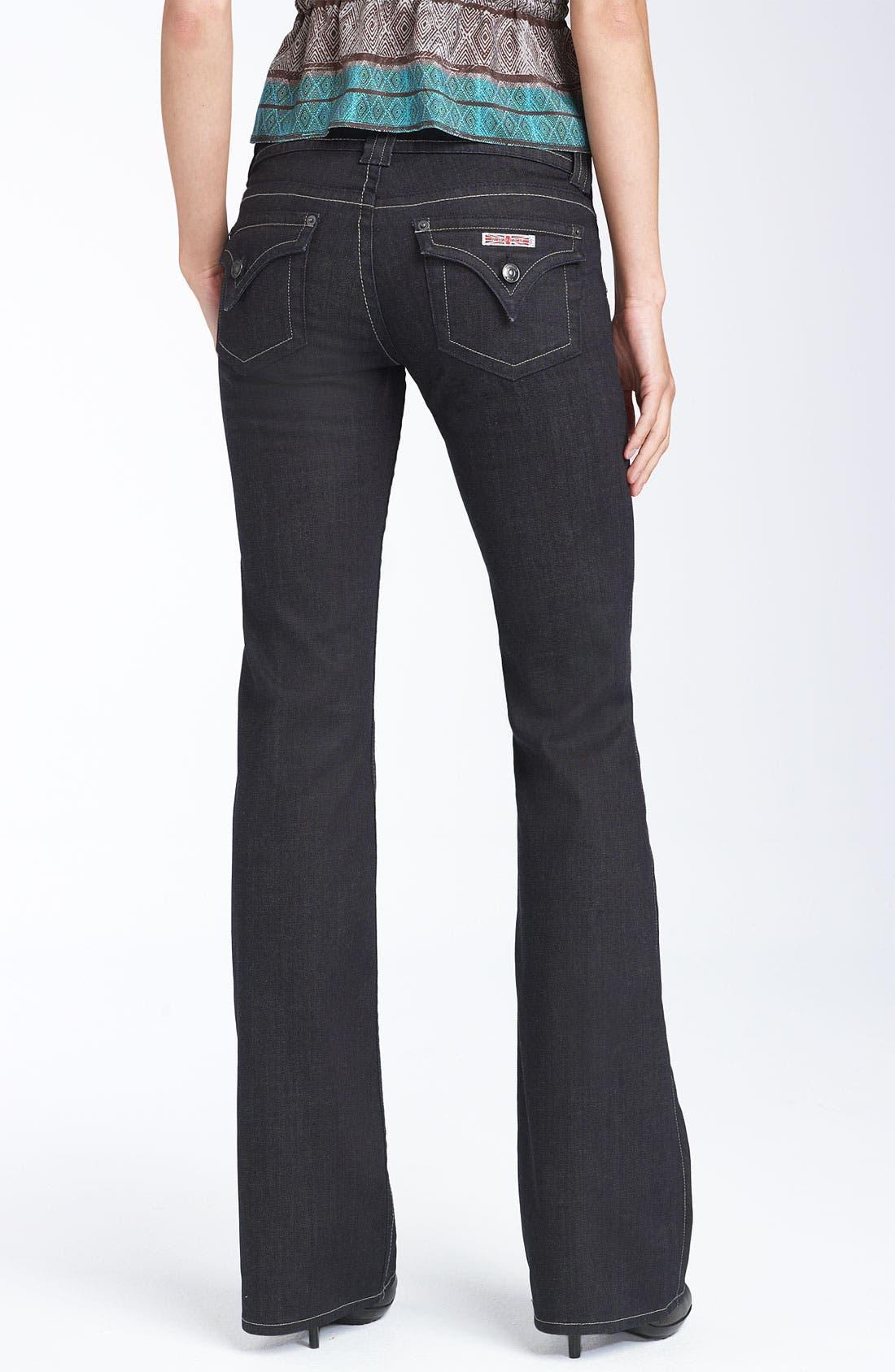 ,                             Signature Flap Pocket Bootcut Jeans,                             Alternate thumbnail 31, color,                             407