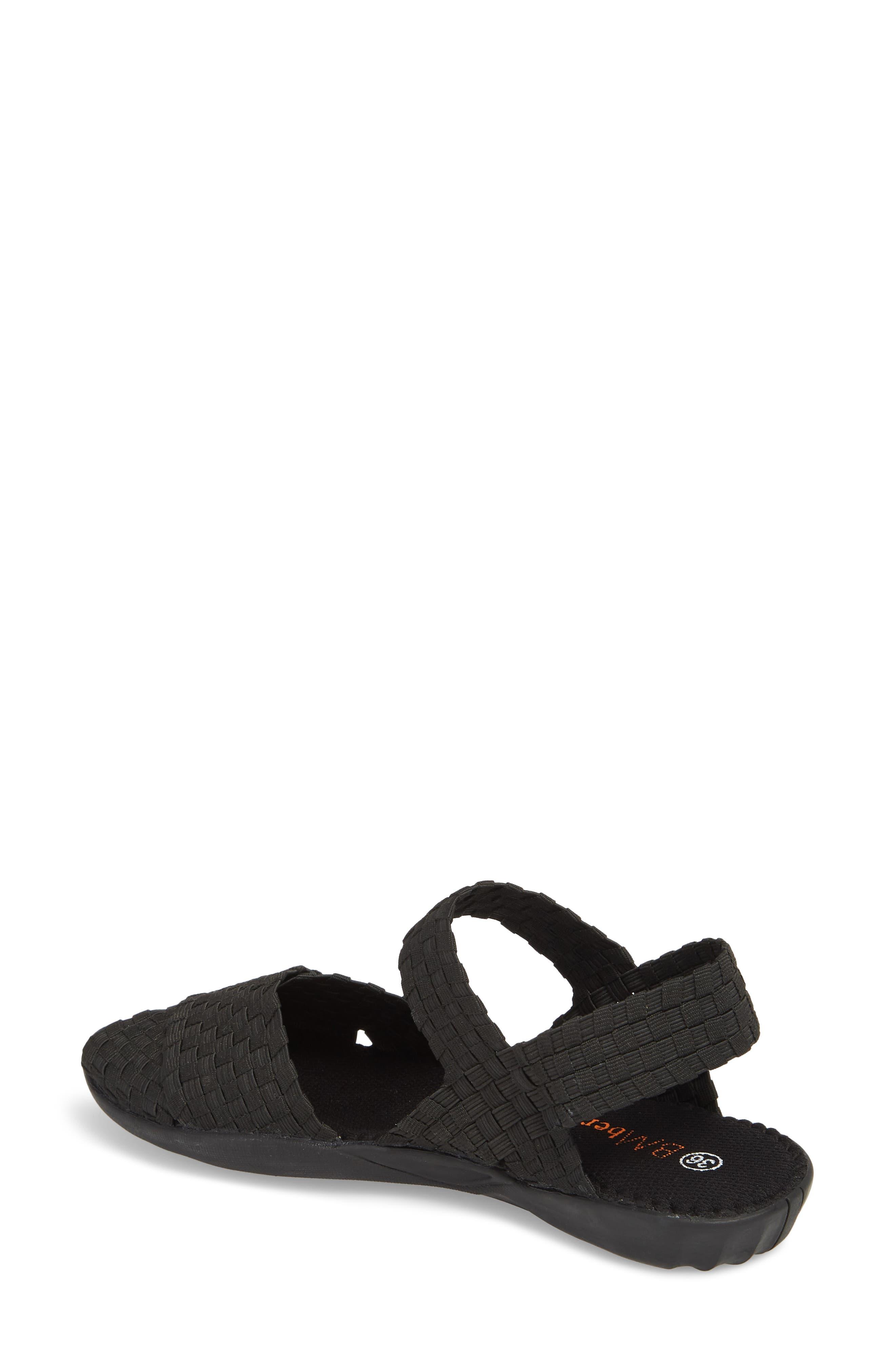 ,                             Balmy Sandal,                             Alternate thumbnail 2, color,                             BLACK FABRIC
