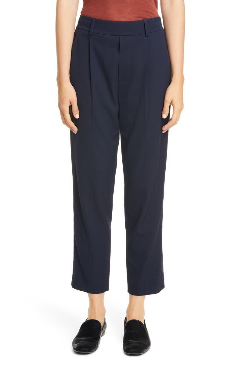 VINCE Side Stripe Pull-On Trousers, Main, color, 414