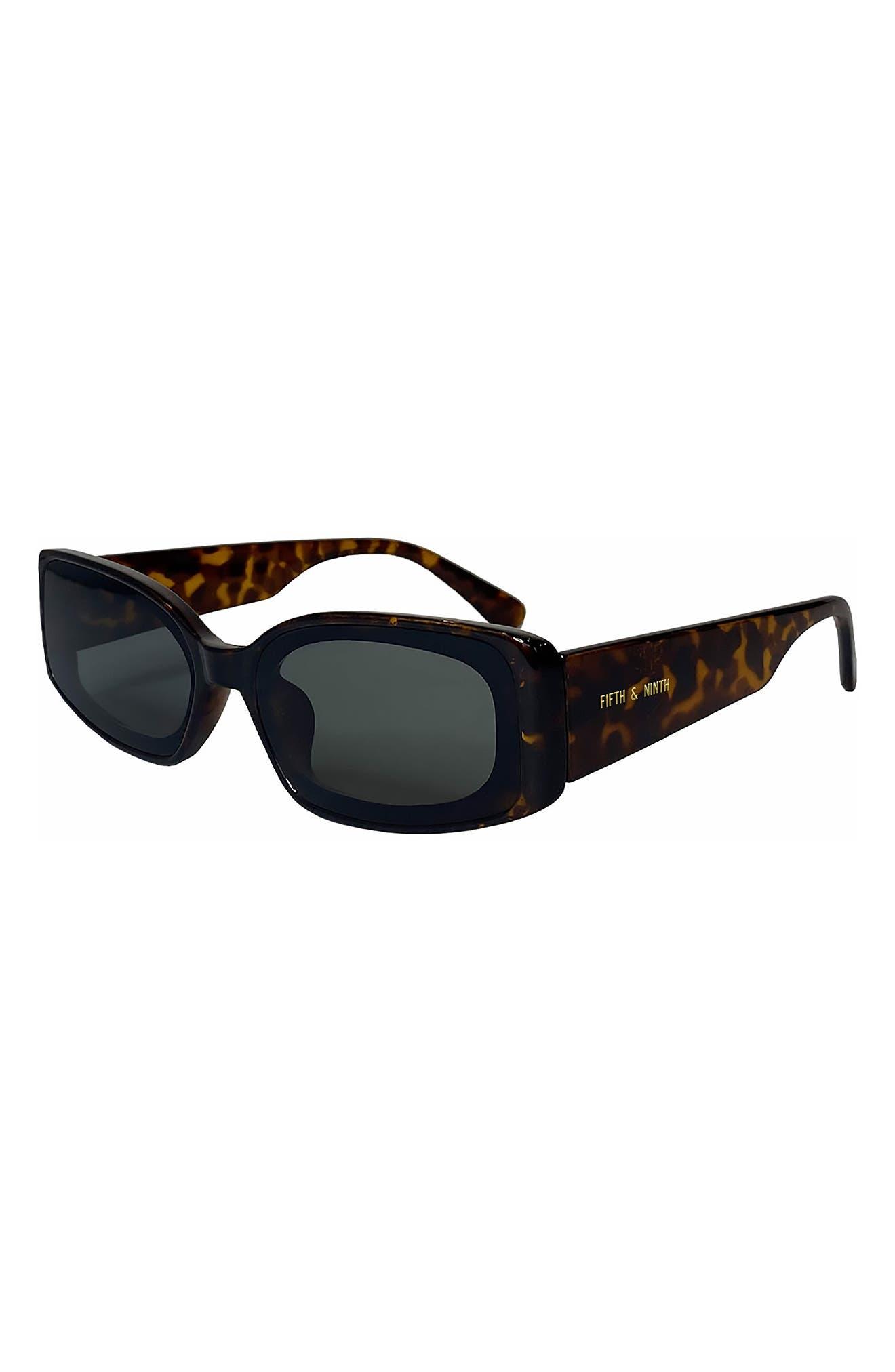 Cannes 57mm Rectangle Sunglasses