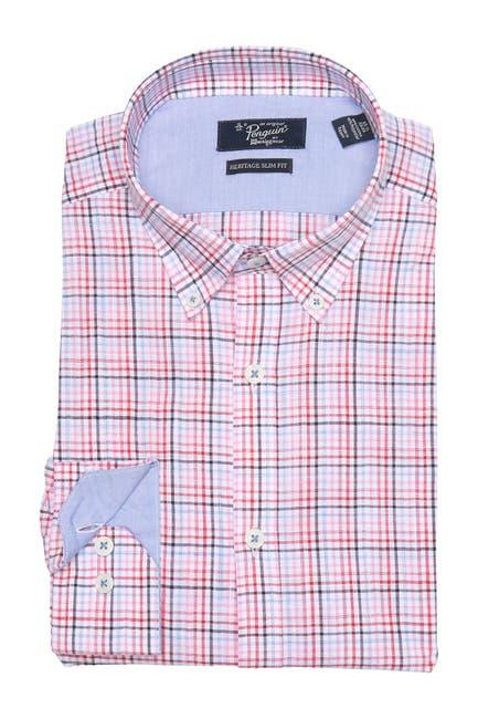 Image of Original Penguin Check Dress Shirt