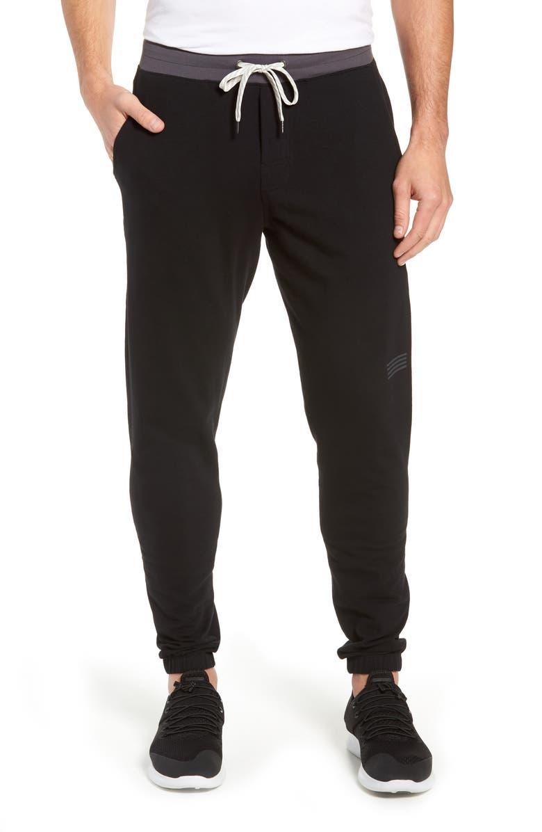VUORI Balboa Slim Fit Knit Jogger Pants, Main, color, BLACK