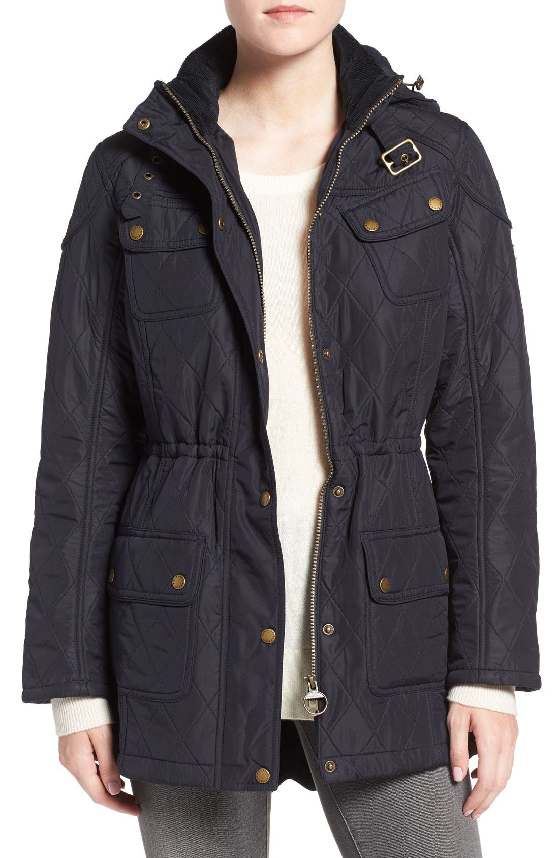 ,                             'Arrow' Quilted Anorak,                             Main thumbnail 15, color,                             410