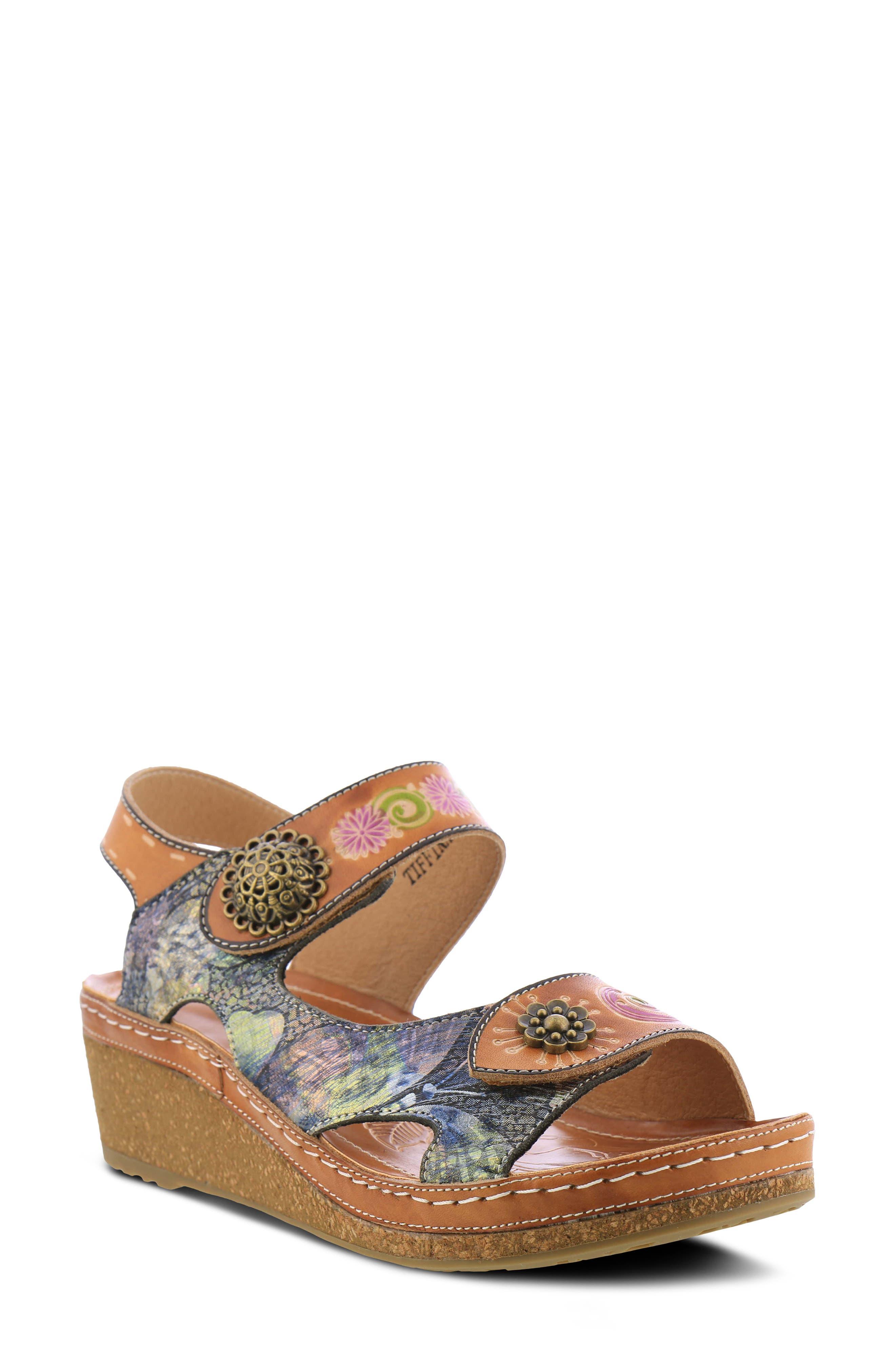 Tiffinal Wedge Sandal