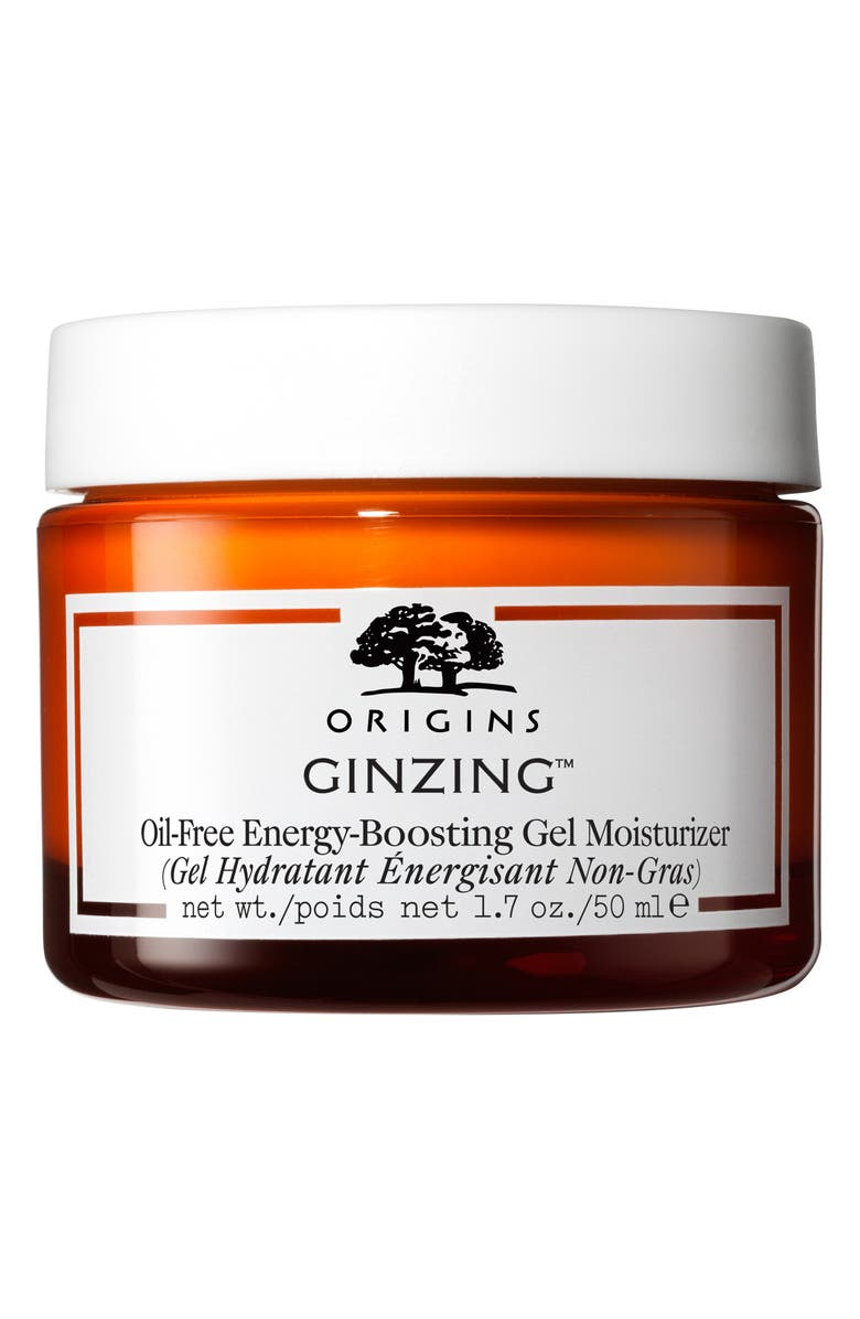 ORIGINS GinZing<sup>™</sup> Oil-Free Energy-Boosting Gel Moisturizer, Main, color, NO COLOR