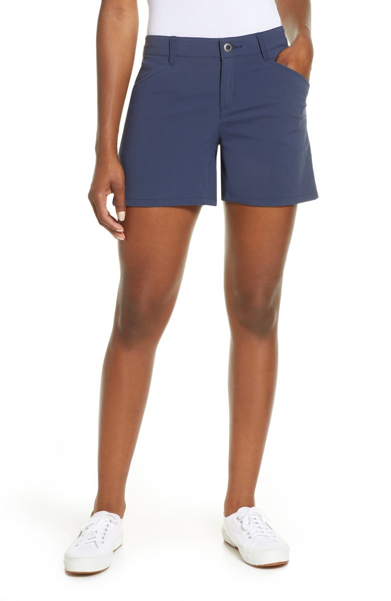 PATAGONIA Quandary Shorts, Main, color, NEW NAVY