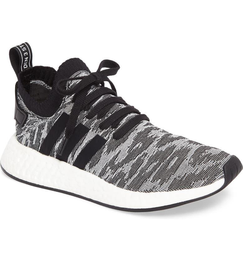 online store 88009 4f3d8 NMD R2 Primeknit Running Shoe