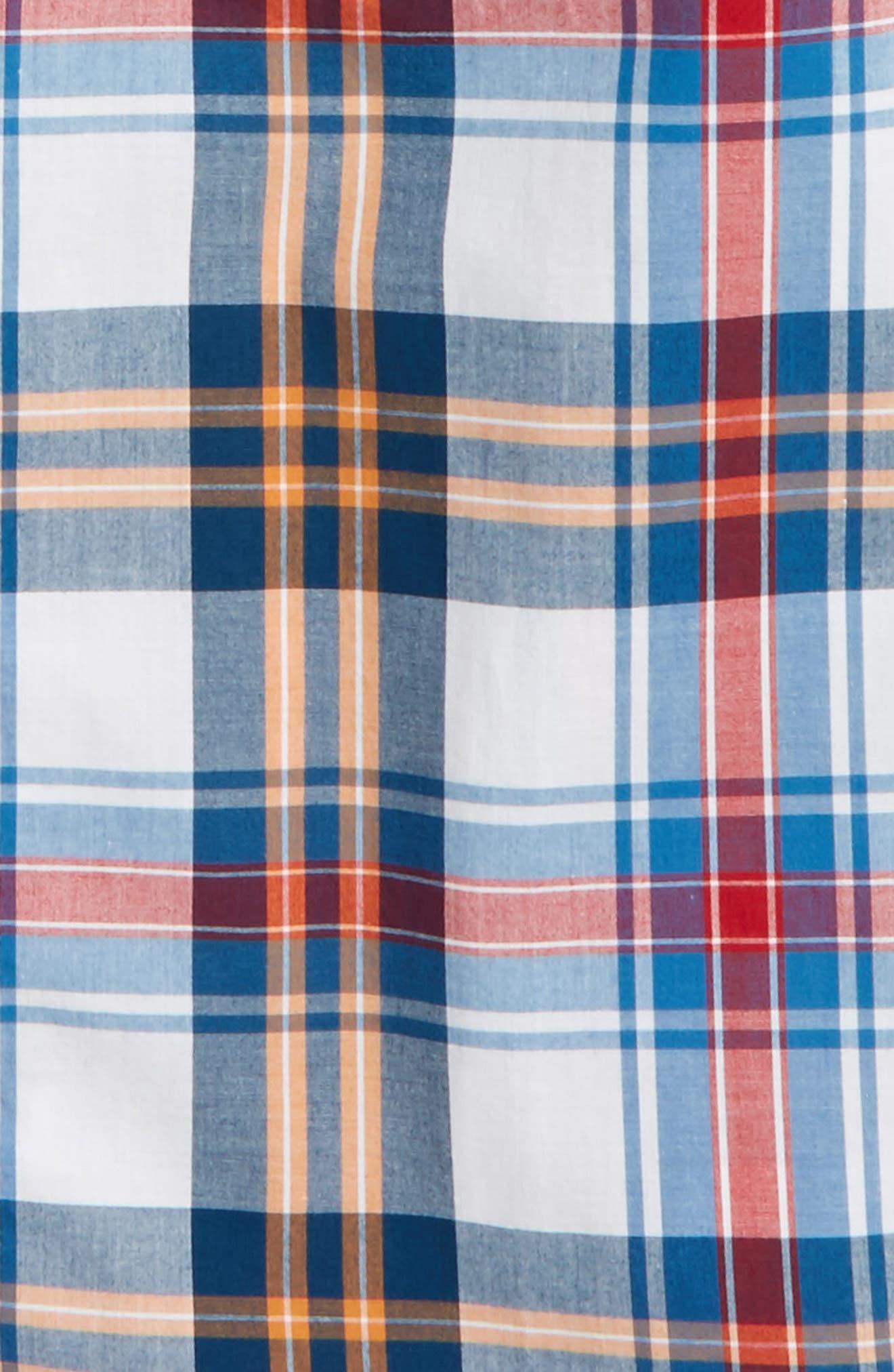 ,                             'Photo' Buffalo Plaid Woven Shirt,                             Alternate thumbnail 16, color,                             100