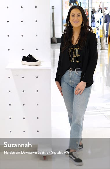 Mercia Lace-Up Platform Sneaker, sales video thumbnail