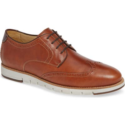 J & m 1850 Martell Wingtip- Brown