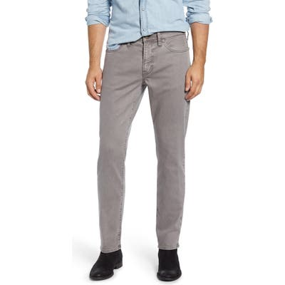 Madewell Garment Dyed Slim Jeans, Grey