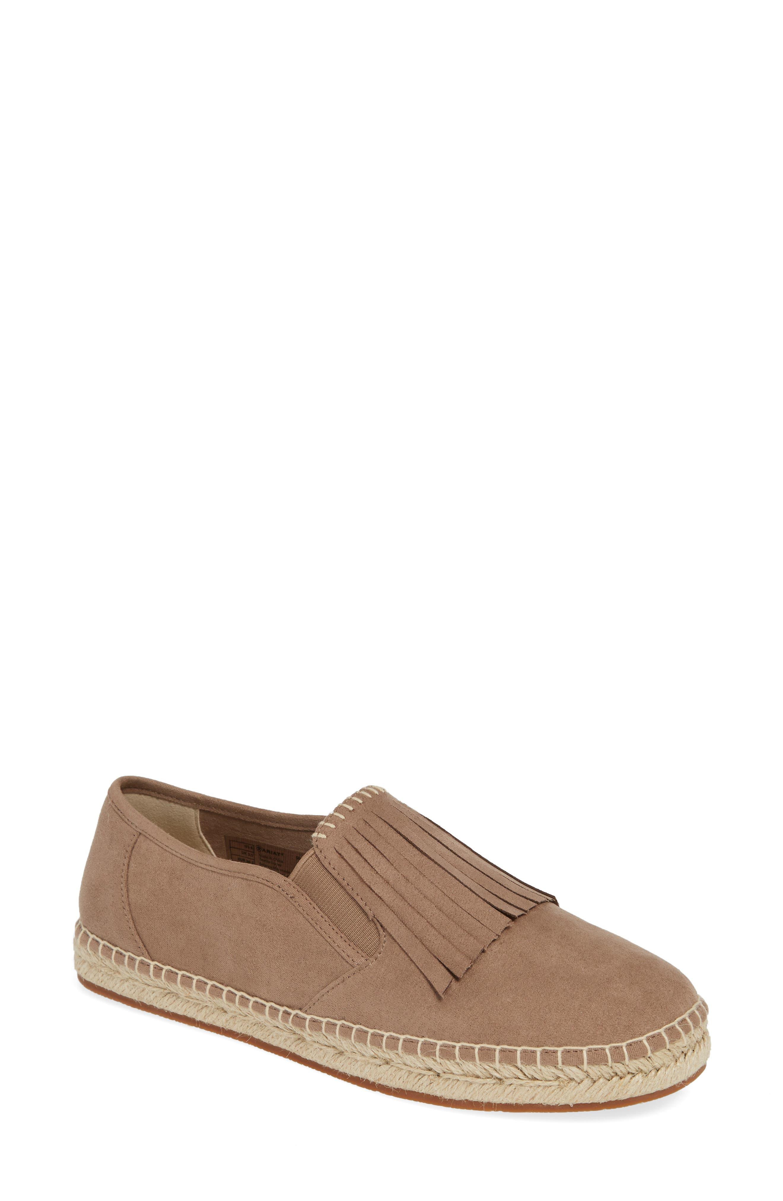 Ariat Joy Kiltie Slip-On Sneaker- Beige