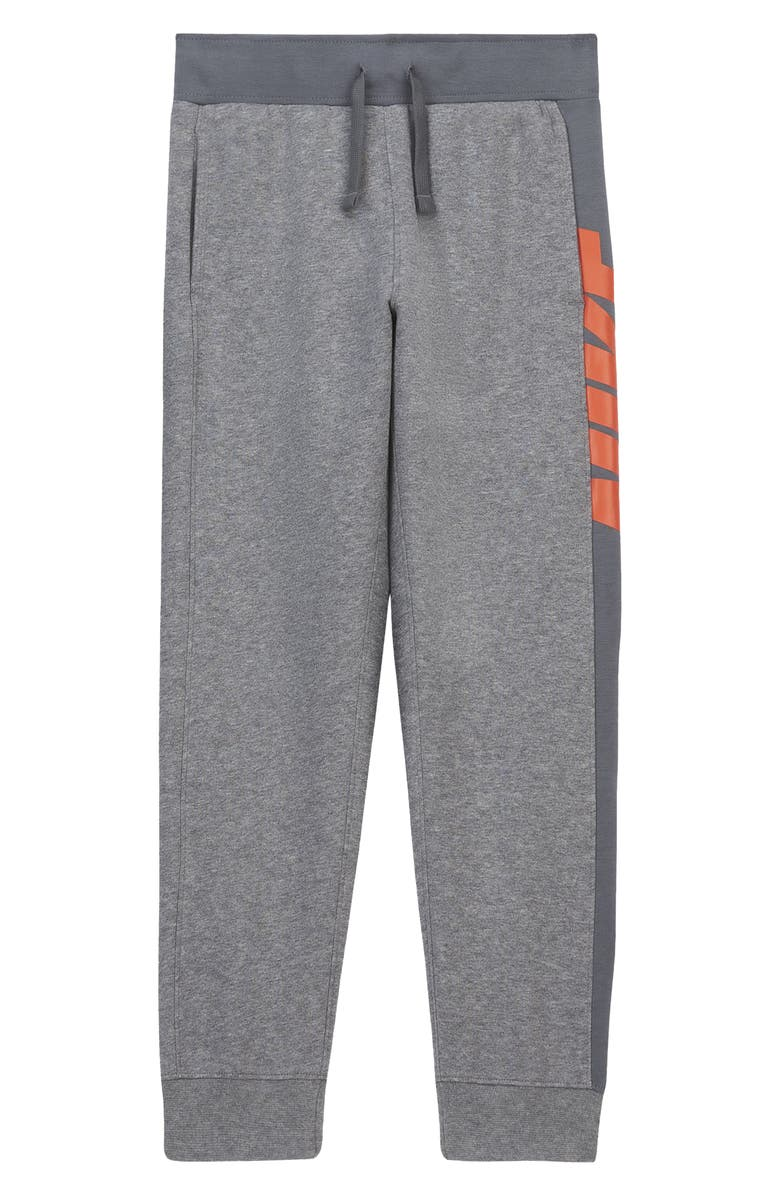 NIKE Sportswear Fleece Sweatpants, Main, color, CARBON/SMOKE/CAMELLIA