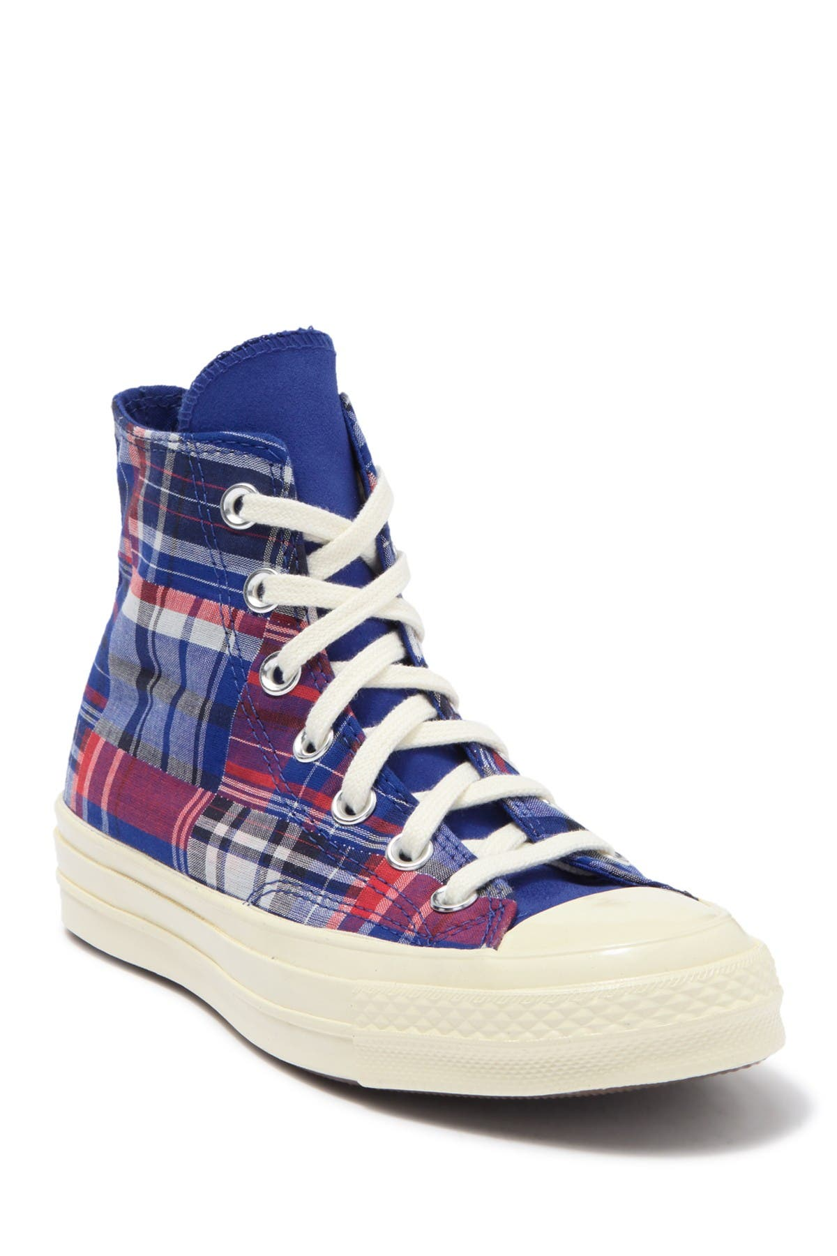 Image of Converse Chuck 70 High Top Rush Plaid Sneaker