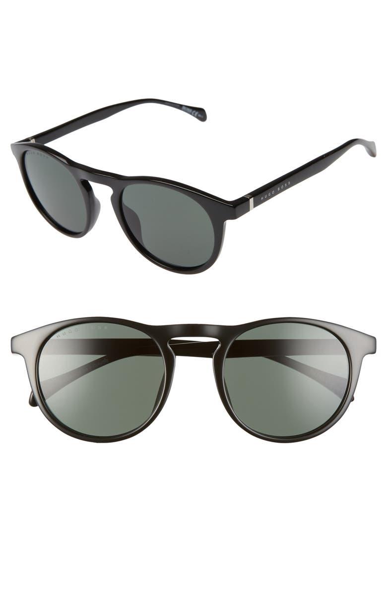 BOSS 1083/S 51mm Sunglasses, Main, color, BLACK