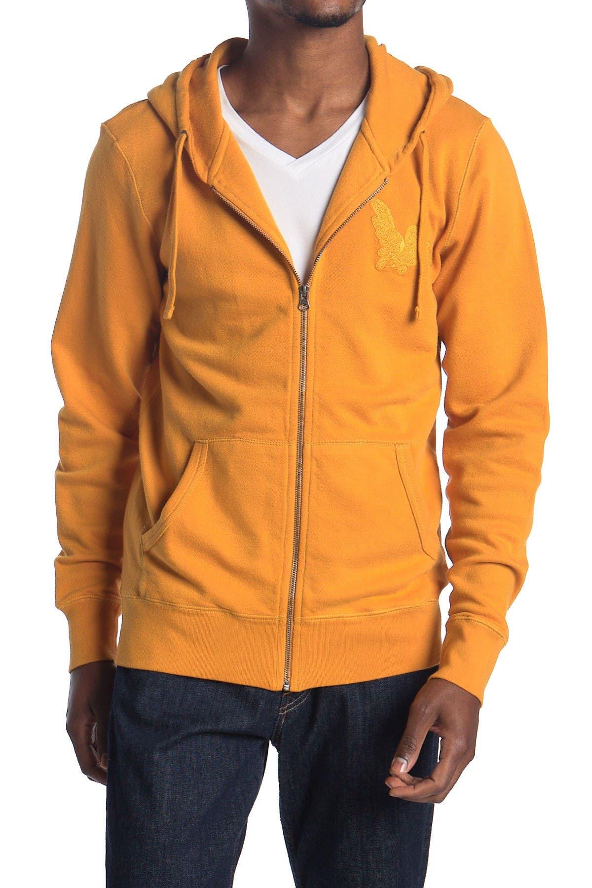 Image of SATURDAYS NYC Embroidered Zip Hoodie