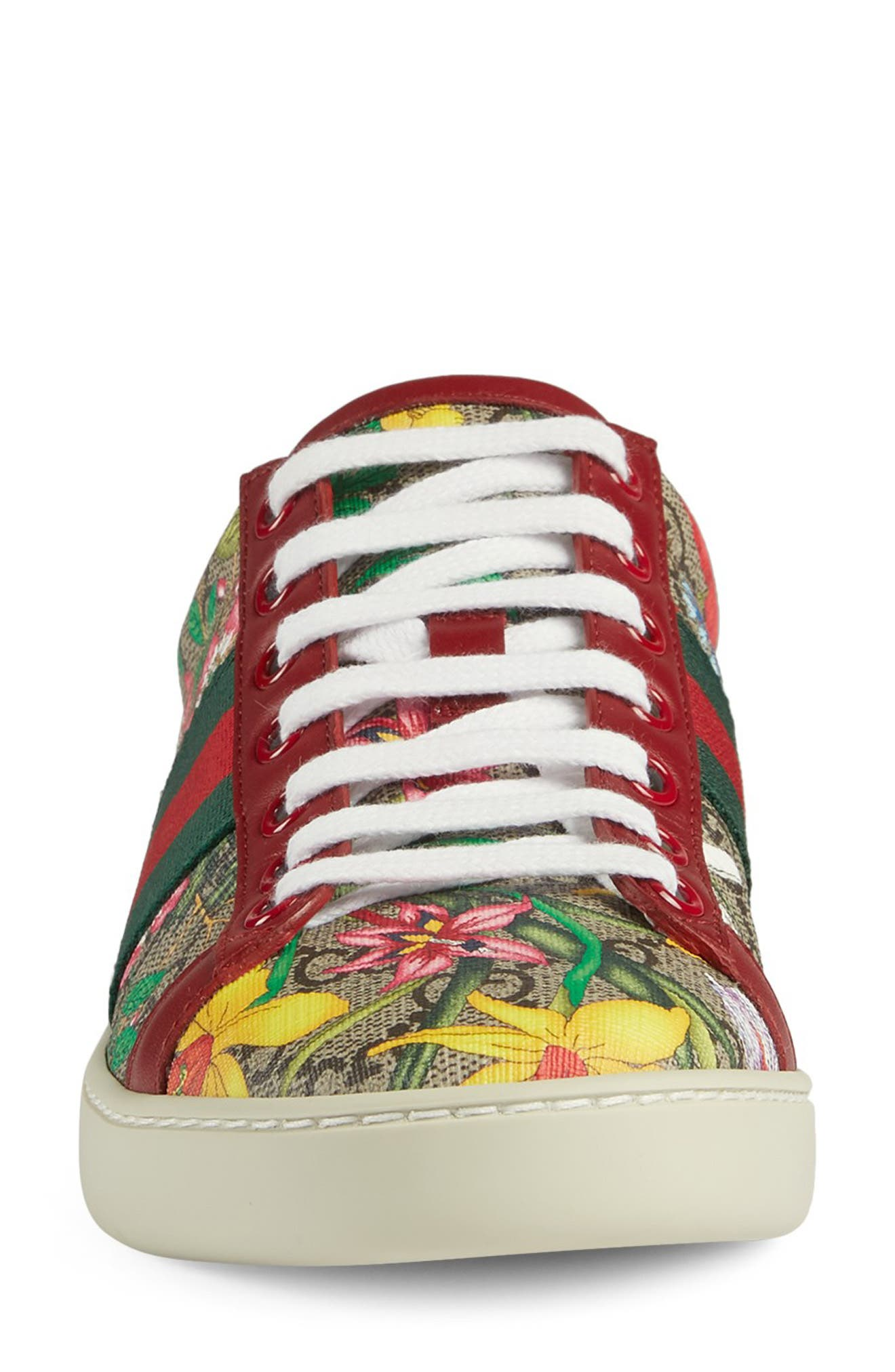 Gucci Sneakers New Ace GG Supreme Floral Sneaker