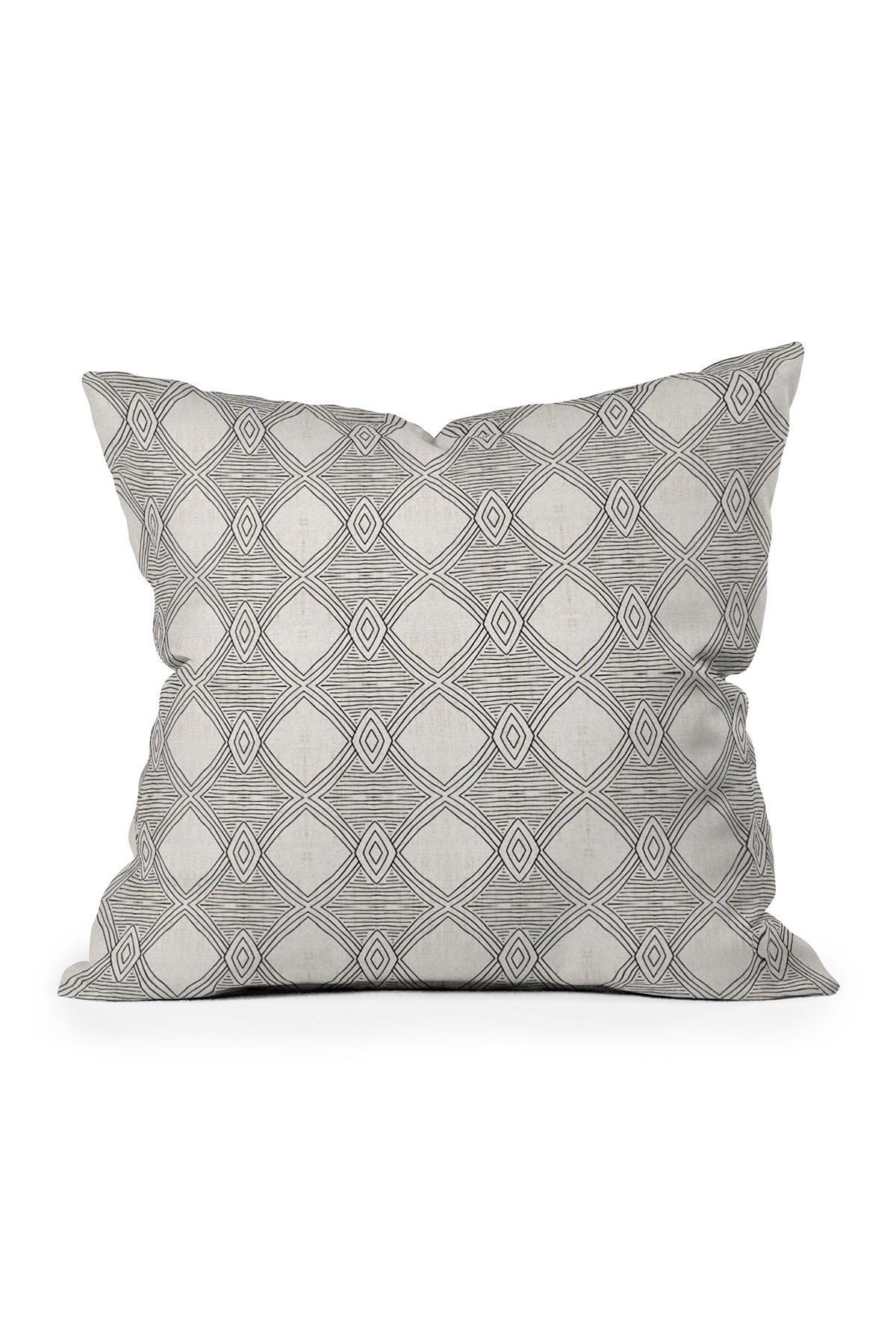 Image of Deny Designs Holli Zollinger Playa Diamond Square Throw Pillow