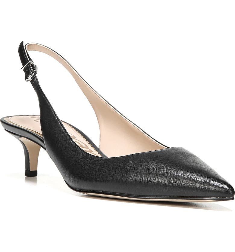 SAM EDELMAN Ludlow Slingback Pump, Main, color, 001