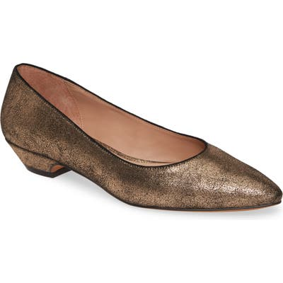 Linea Paolo Bridget Pointy Toe Pump, Brown