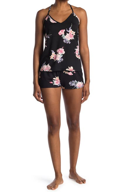 Image of Flora by Flora Nikrooz Annette Floral Print Cami Pajama Set