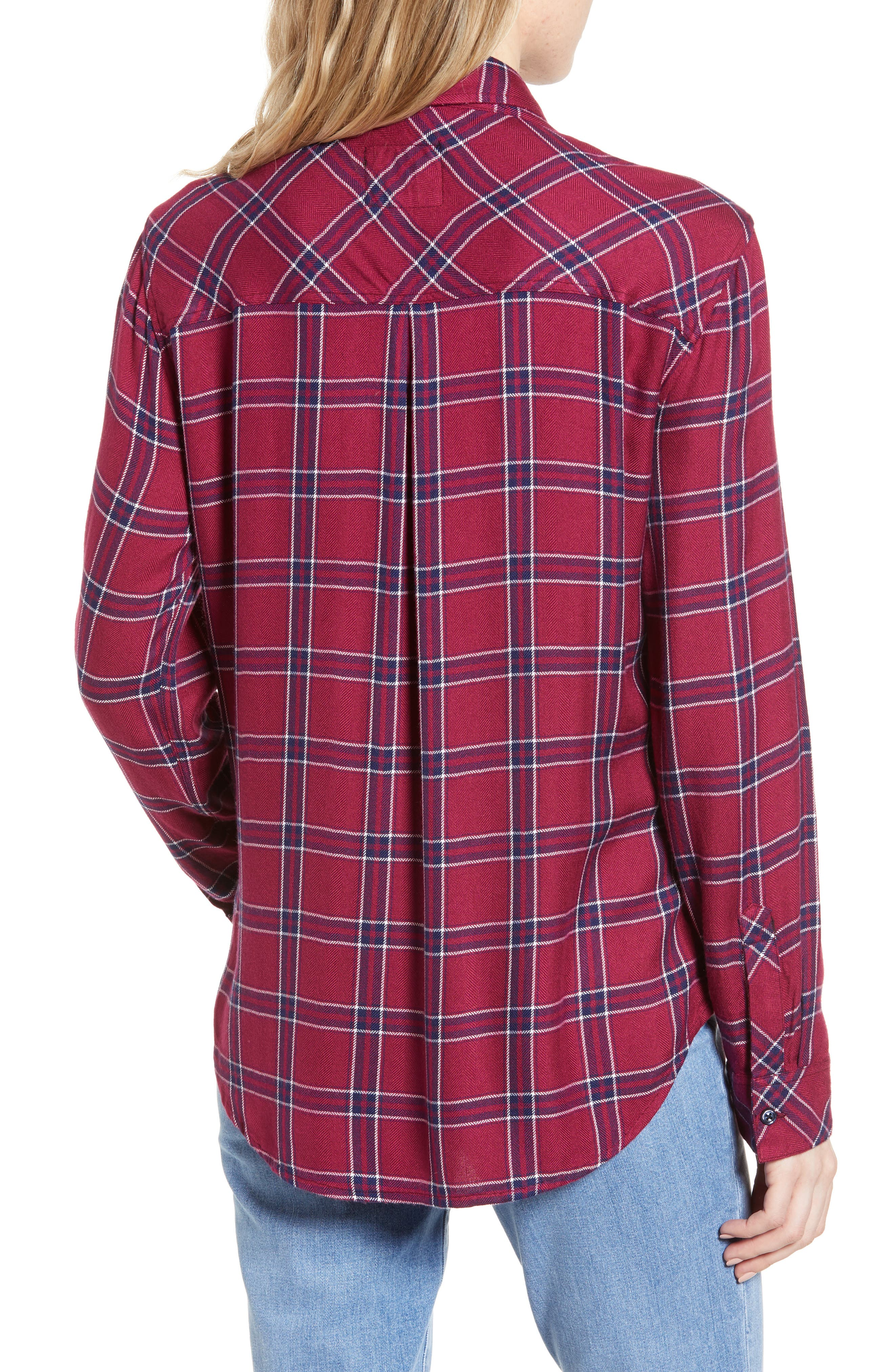 ,                             Hunter Plaid Shirt,                             Alternate thumbnail 30, color,                             935