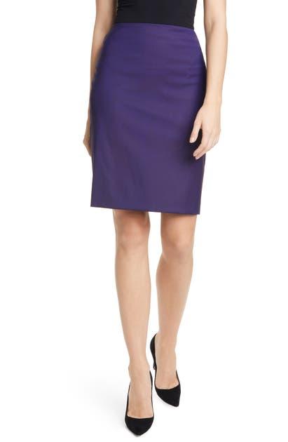 Boss Skirts VIKENA WOOL PENCIL SKIRT