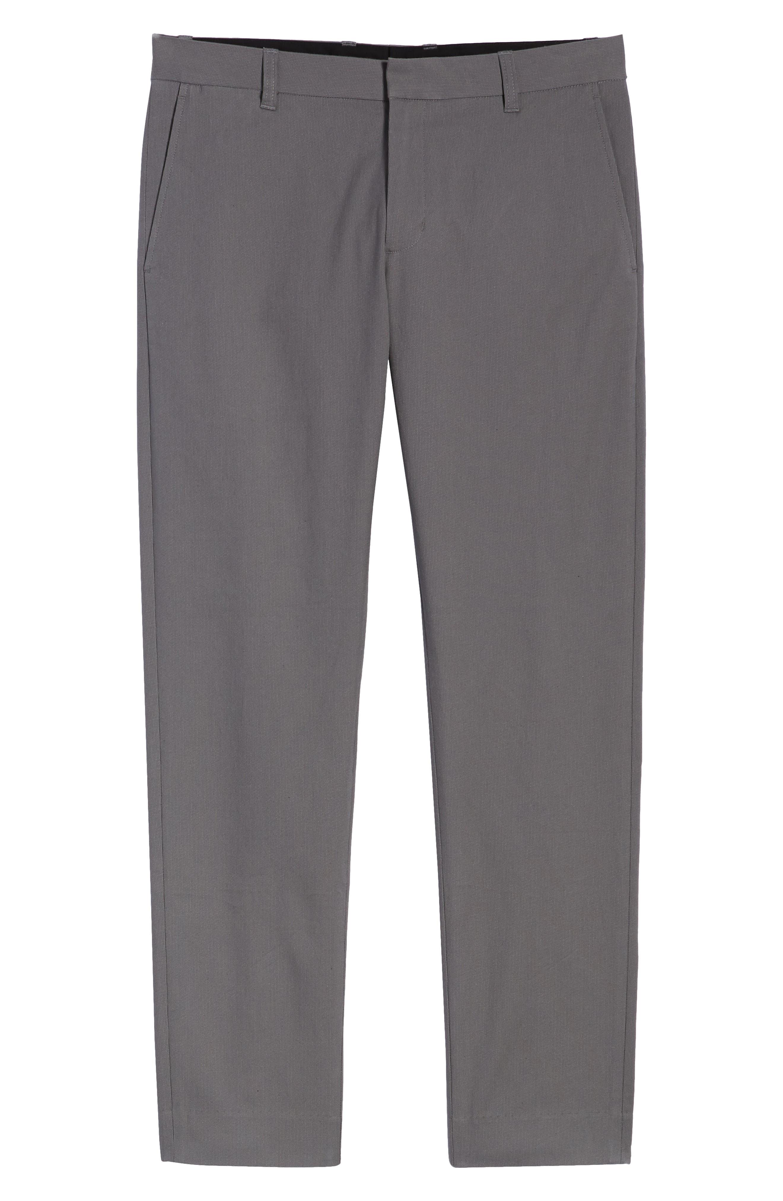 ,                             Griffith Slim Cut Pants,                             Alternate thumbnail 7, color,                             SLATE