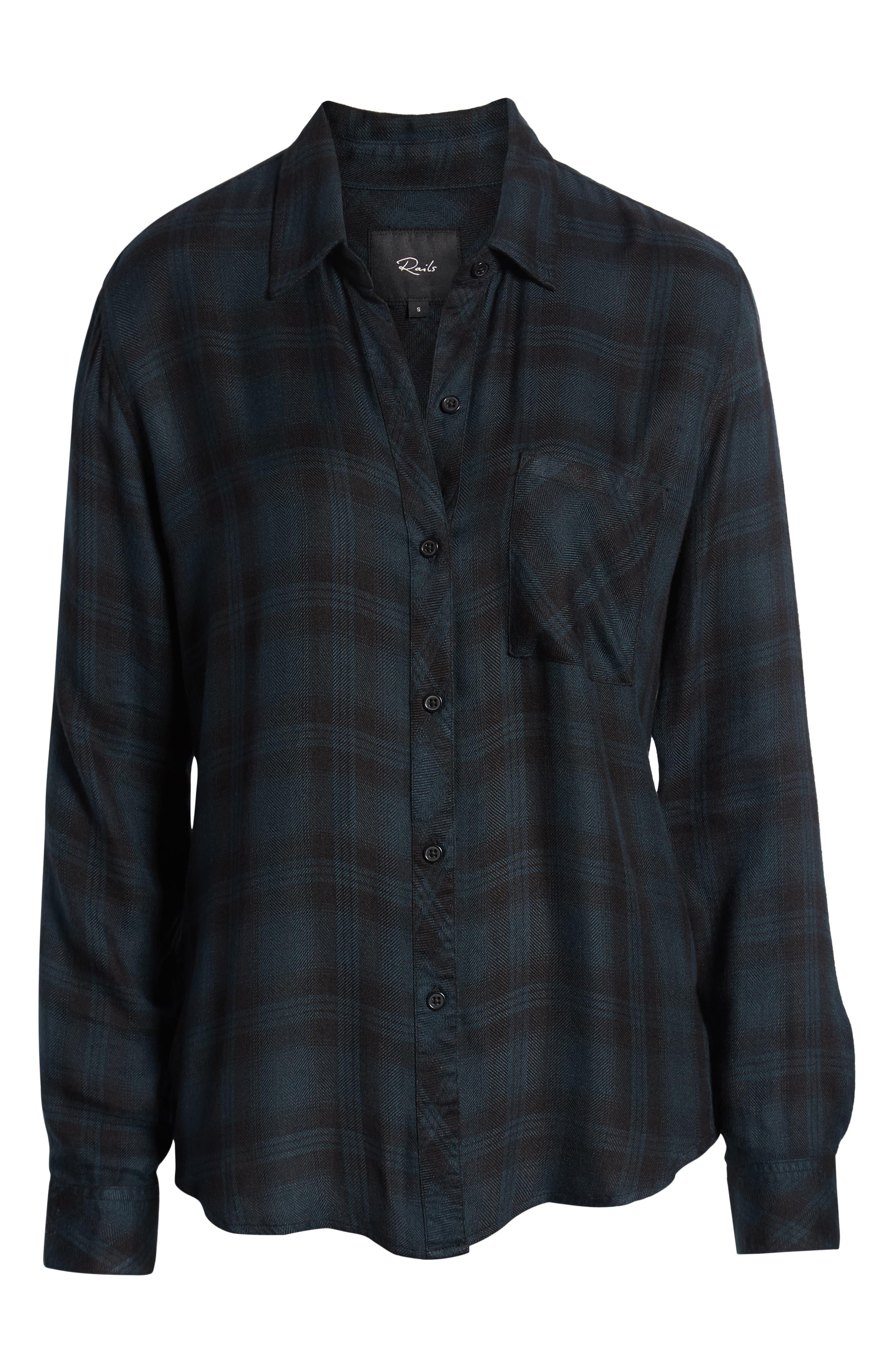 ,                             Hunter Plaid Shirt,                             Alternate thumbnail 488, color,                             002