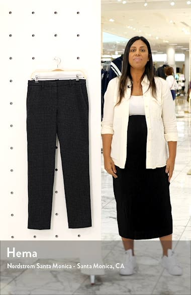 Houndstooth Slim Pants, sales video thumbnail