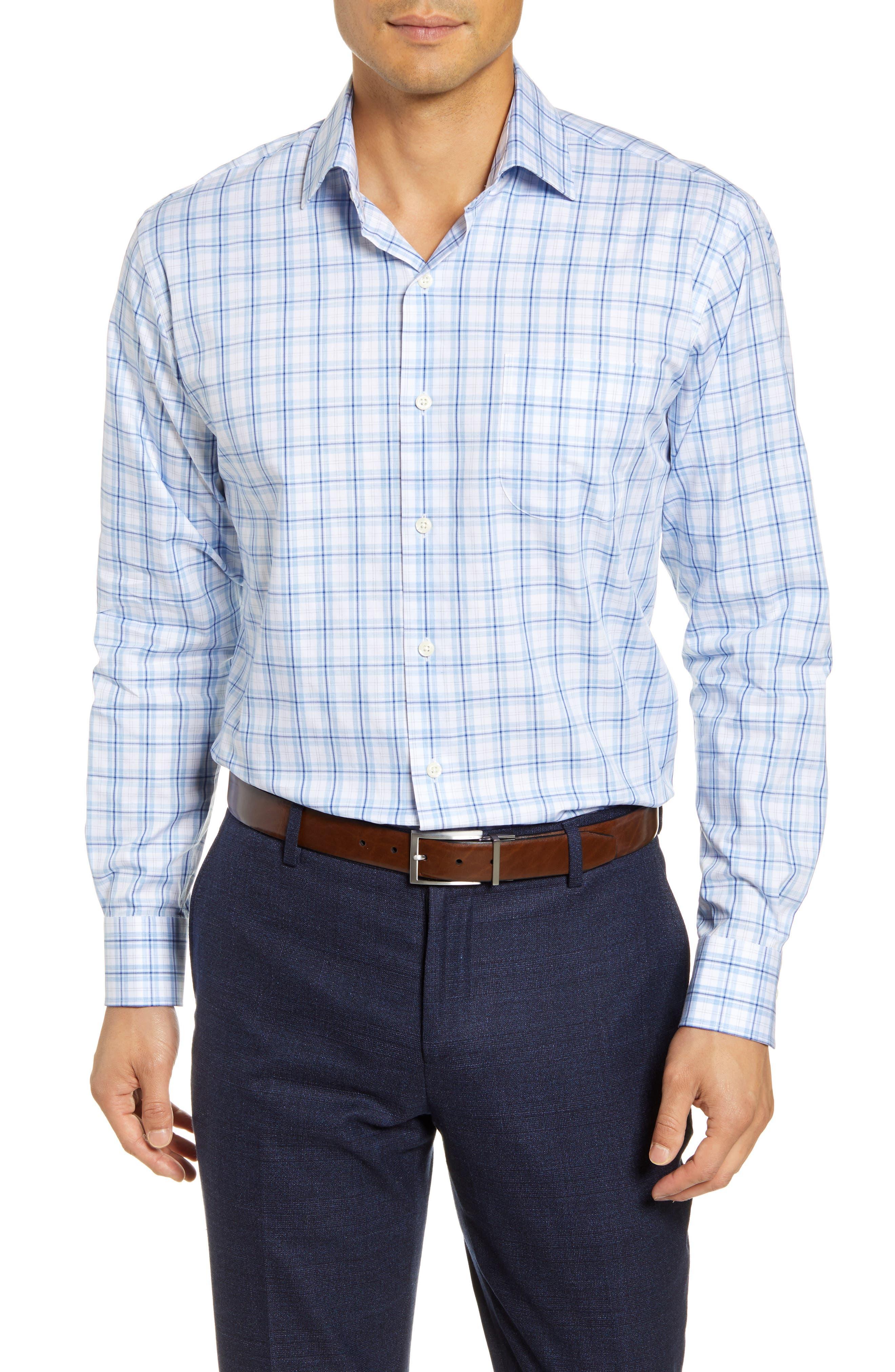 Image of Peter Millar Warren Regular Fit Tartan Plaid Shirt