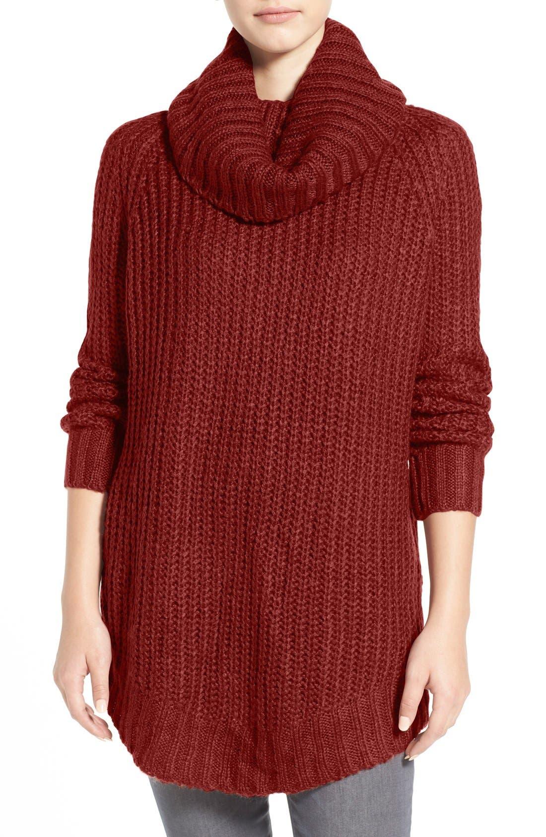 ,                             Cowl Neck Sweater,                             Main thumbnail 39, color,                             821