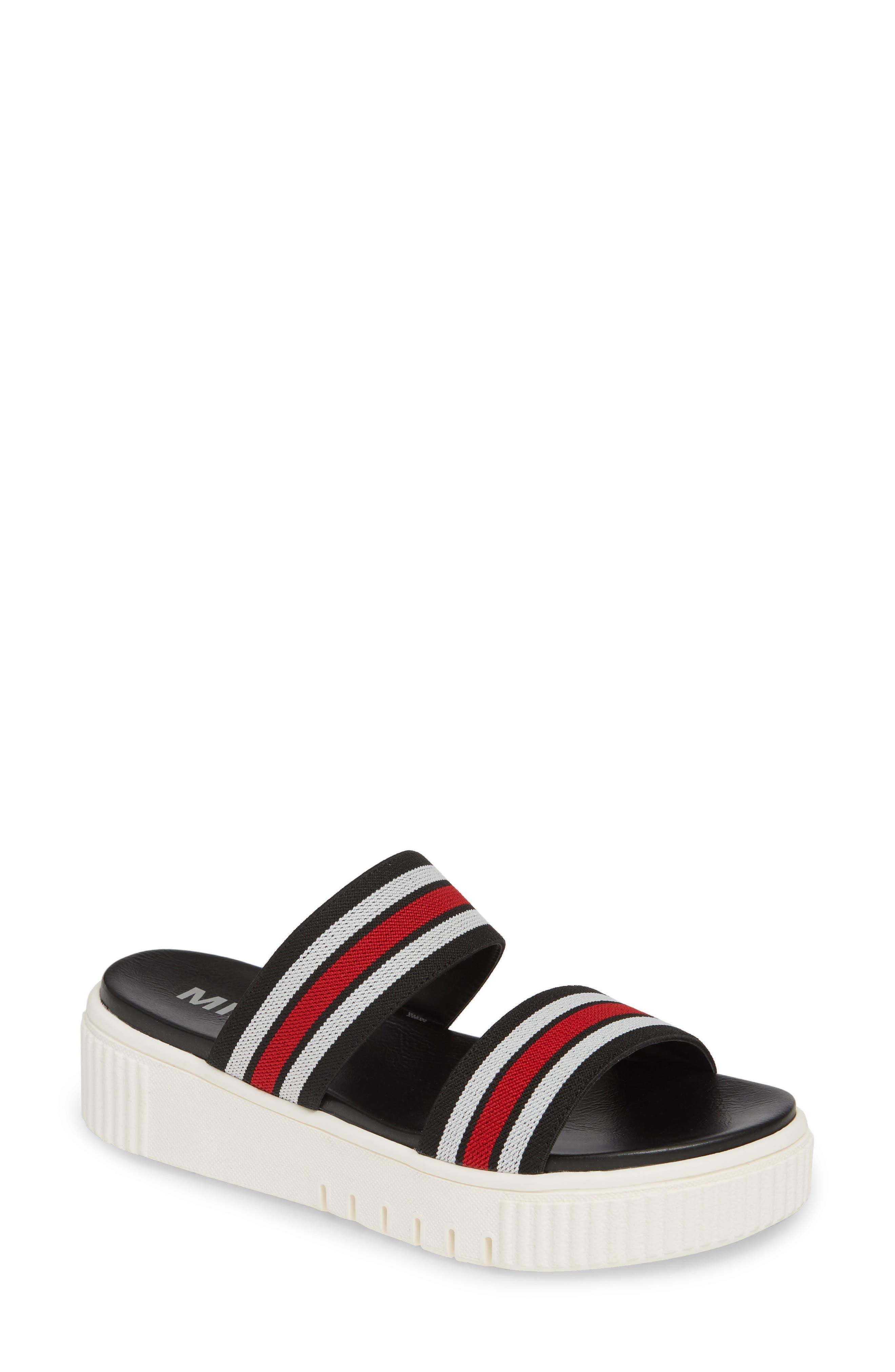 Mia Lillie Flatform Sandal- Black